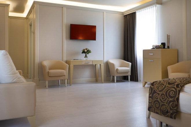 Park hotel Imperial - camere e suite - Garden suite ampia e moderna - 5 stelle