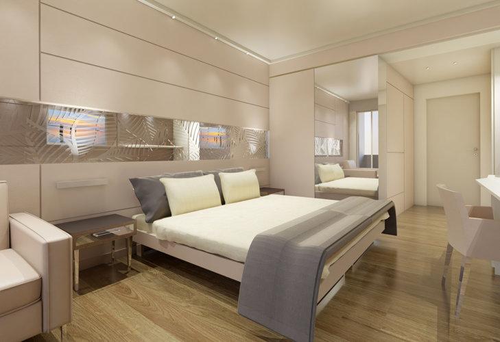 Camera doppia Prestige, 24 mq, novità 2019 - Park Hotel Imperial.