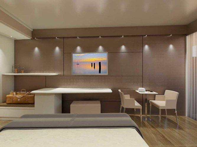 Camera doppia Prestige, 24 mq, novità 2019, ampi spazi interni - Park Hotel Imperial.