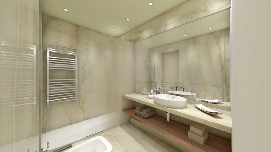 Camera doppia Prestige, 24 mq, novità 2019, Bagno moderno- Park Hotel Imperial.