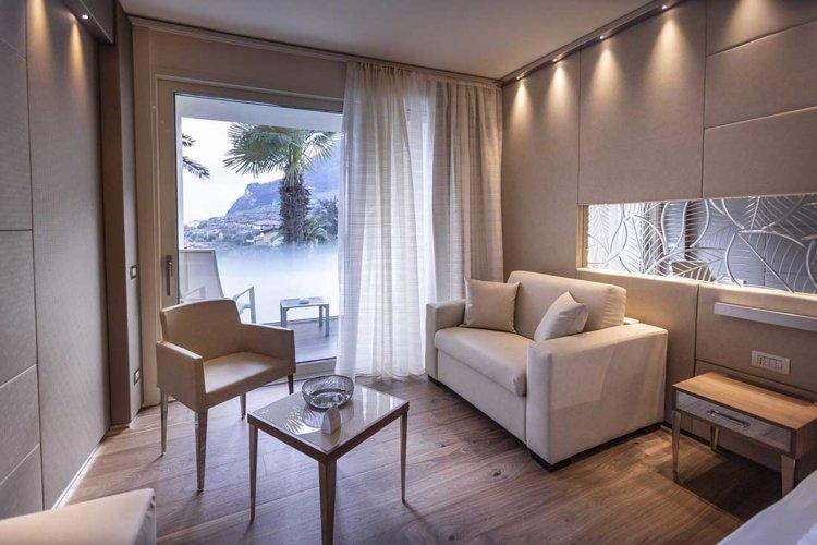 Prestige park hotel Imperial, le nuove camere 2019, vista sul giardino