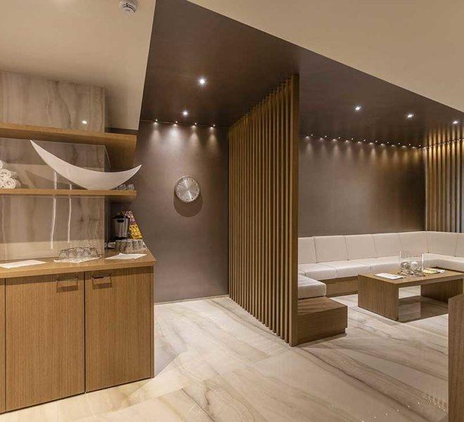 La nuova meravigliosa spa del Park Hotel Imperial, relax zone