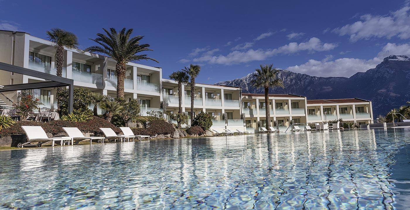Park hotel imperial esterno piscine