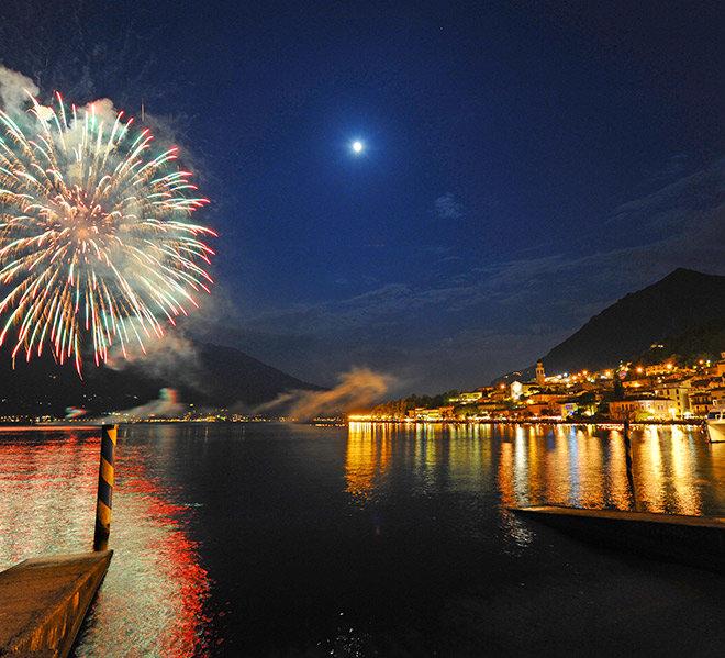 Notte magica a Limone per capodanno e le festività.