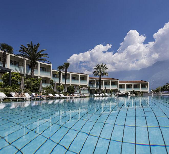 piscina esterna Park Hotel Imperial relax e wellness