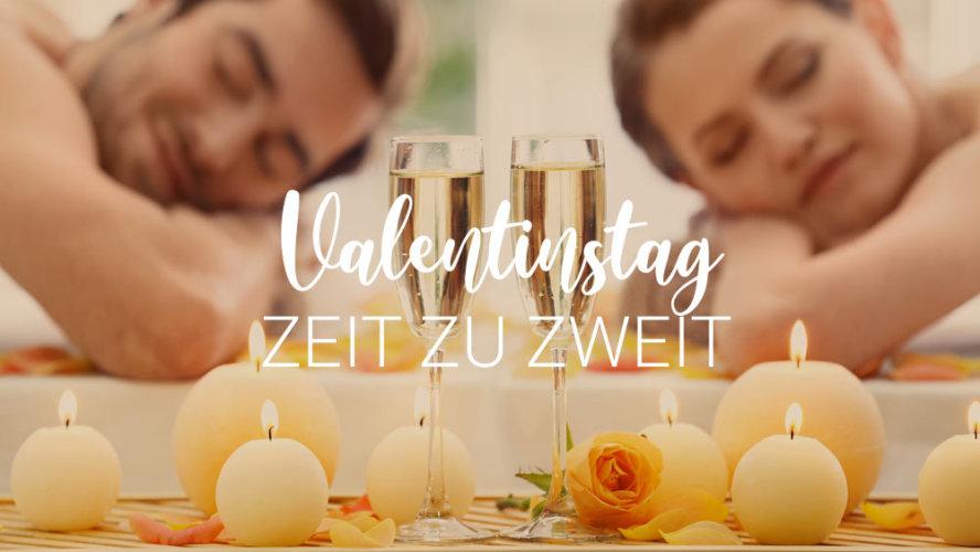 Valentinstag-Angebote: Zeit zu zweit