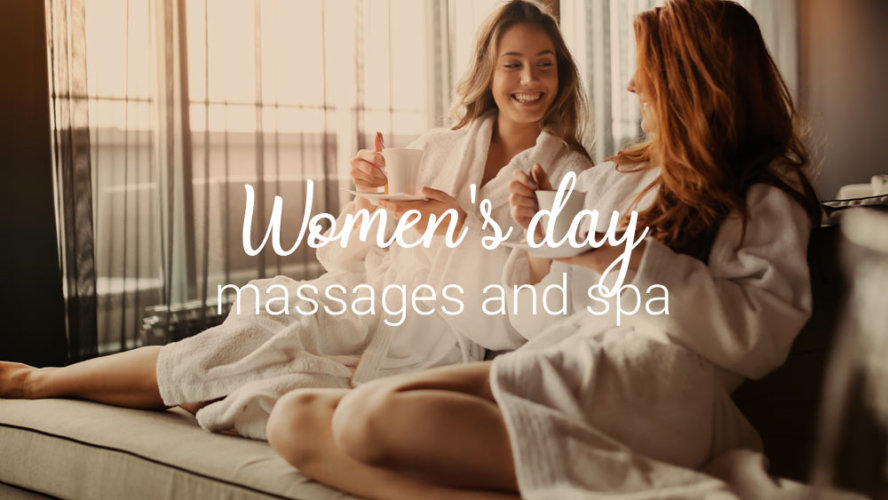 Women's day massages and spa
