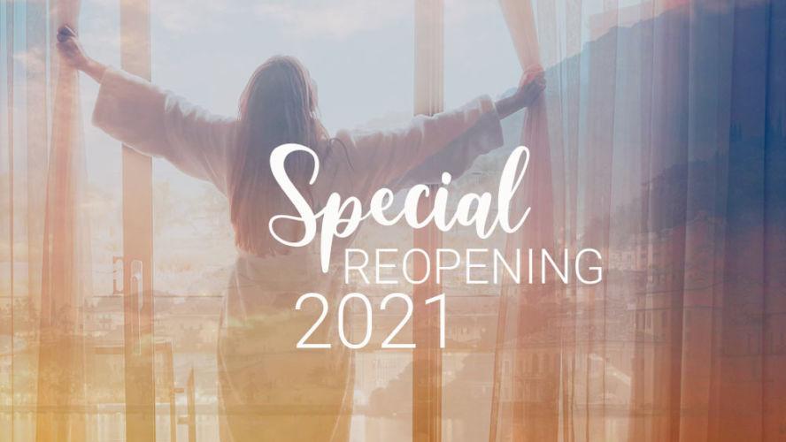 Wiedereröffnung des Sonderangebots im März 2021